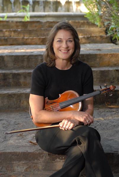 San Antonio Symphony violinist Joan Christenson.