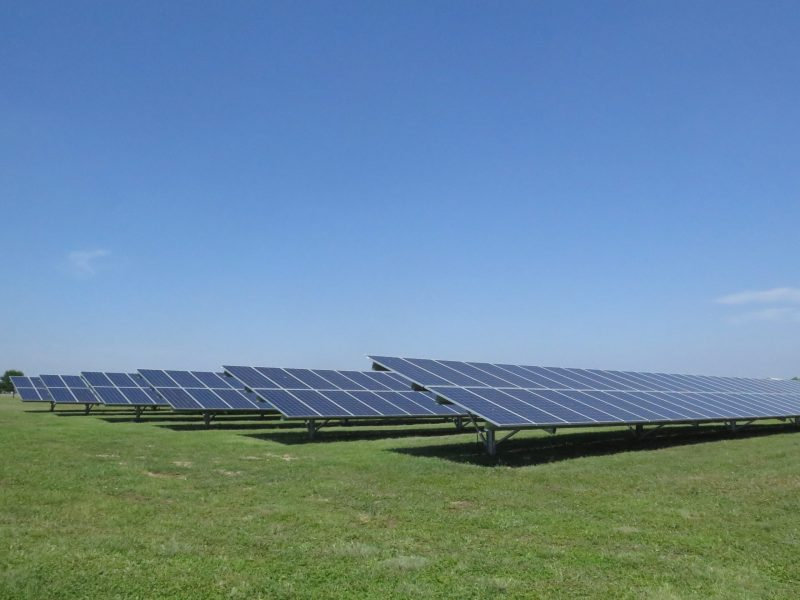 As part of the SolarHost SA program, the Toyota Motor Manufacturing plant now has two acres of solar panels.