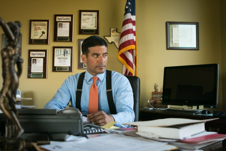"Bexar County Criminal District Attorney Nicholas ""Nico"" LaHood."