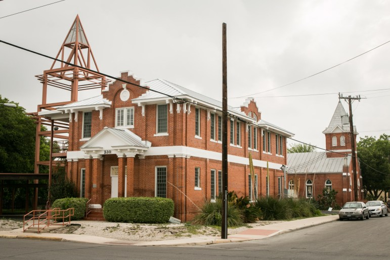 The Holy Redeemer Catholic Church is located at 1819 Nevada St.