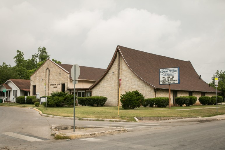 New Mount Pleasant Baptist Church is located at 1639 Hays St.