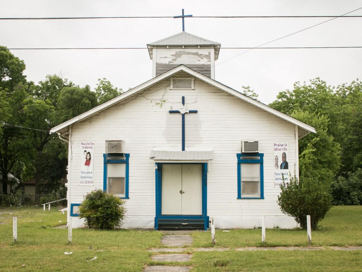 The Revelation San Antonio church is located at 1502 E. Crockett St.