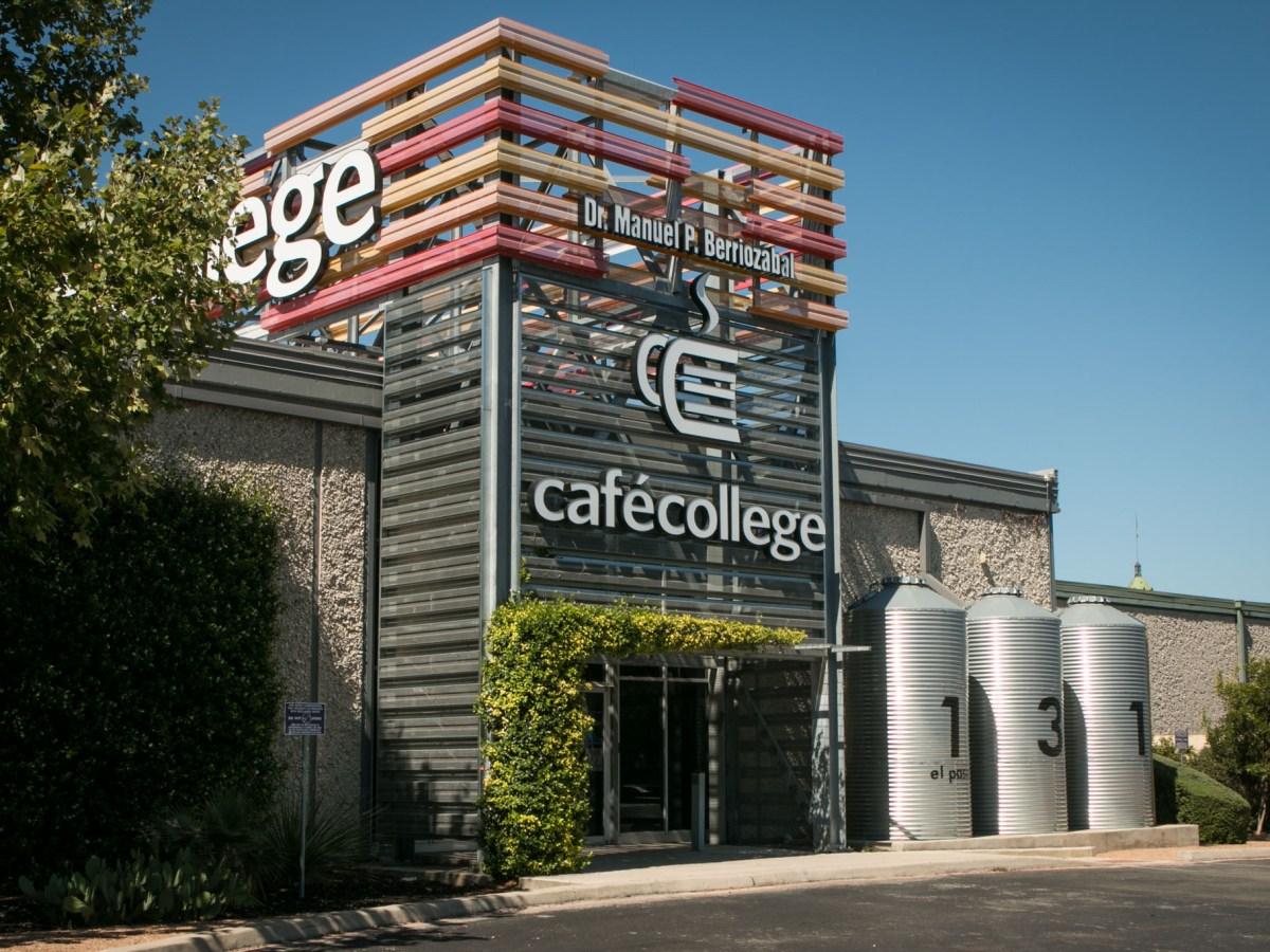 Café College is located at 131 El Paso St.
