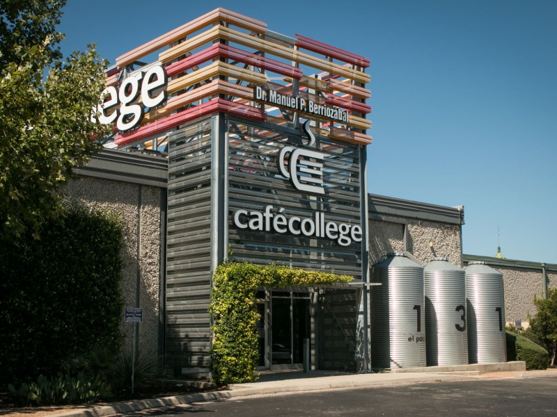 Café College is located at 131 El Paso St.