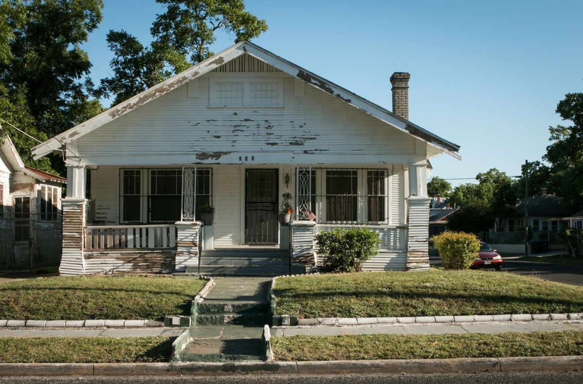 This house on Harding Place is being revitalized and restored during Rehabarama.