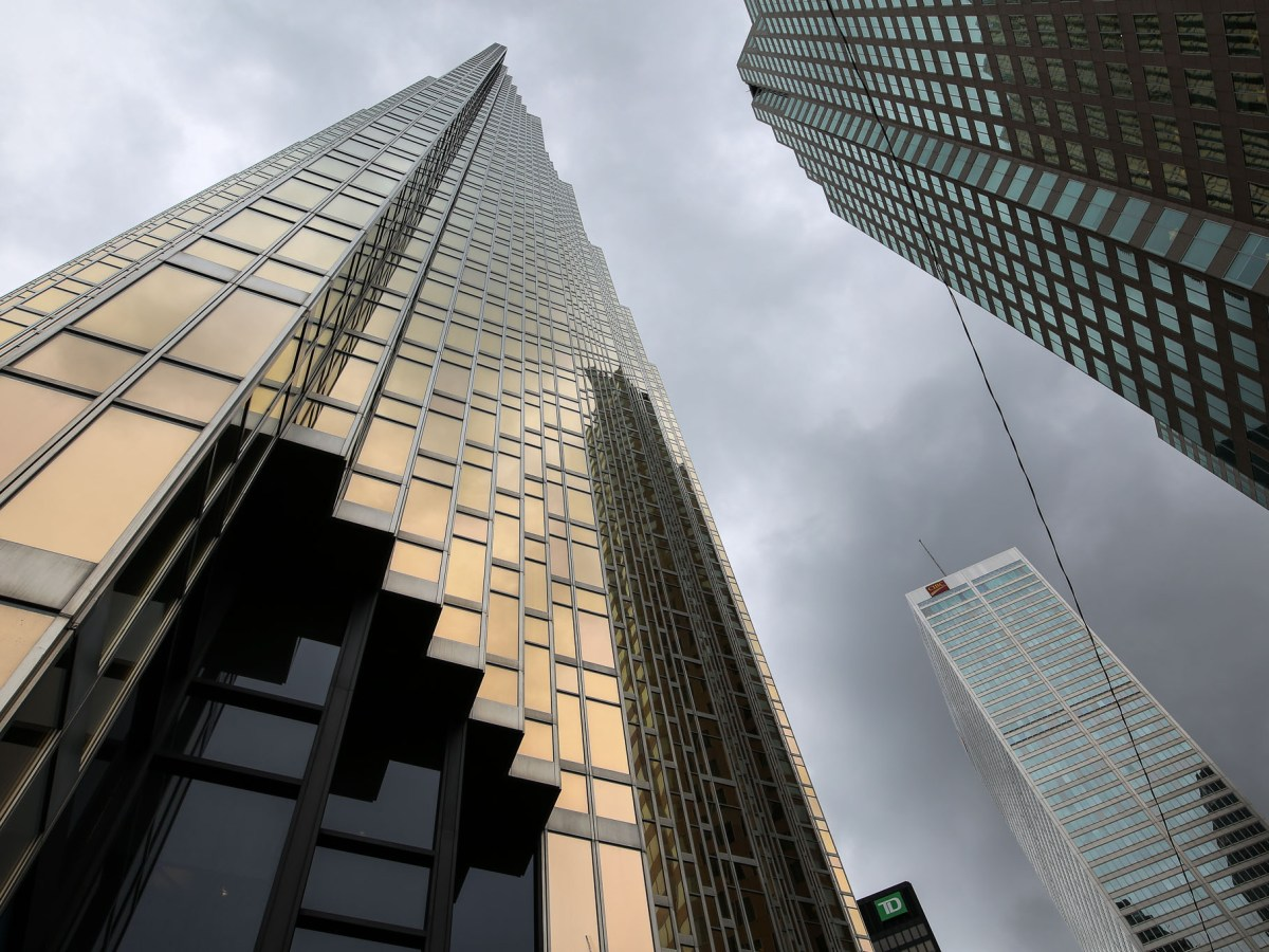 Royal Bank Plaza in Toronto's Financial District.
