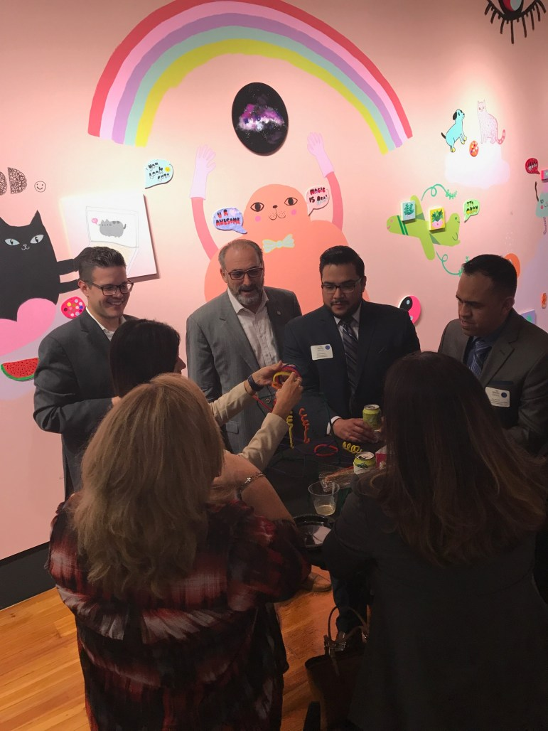 new ABLDP cohort breaking the ice and ideating bold and disruptive futures for or City with the help of Pipe cleaners and Playdough