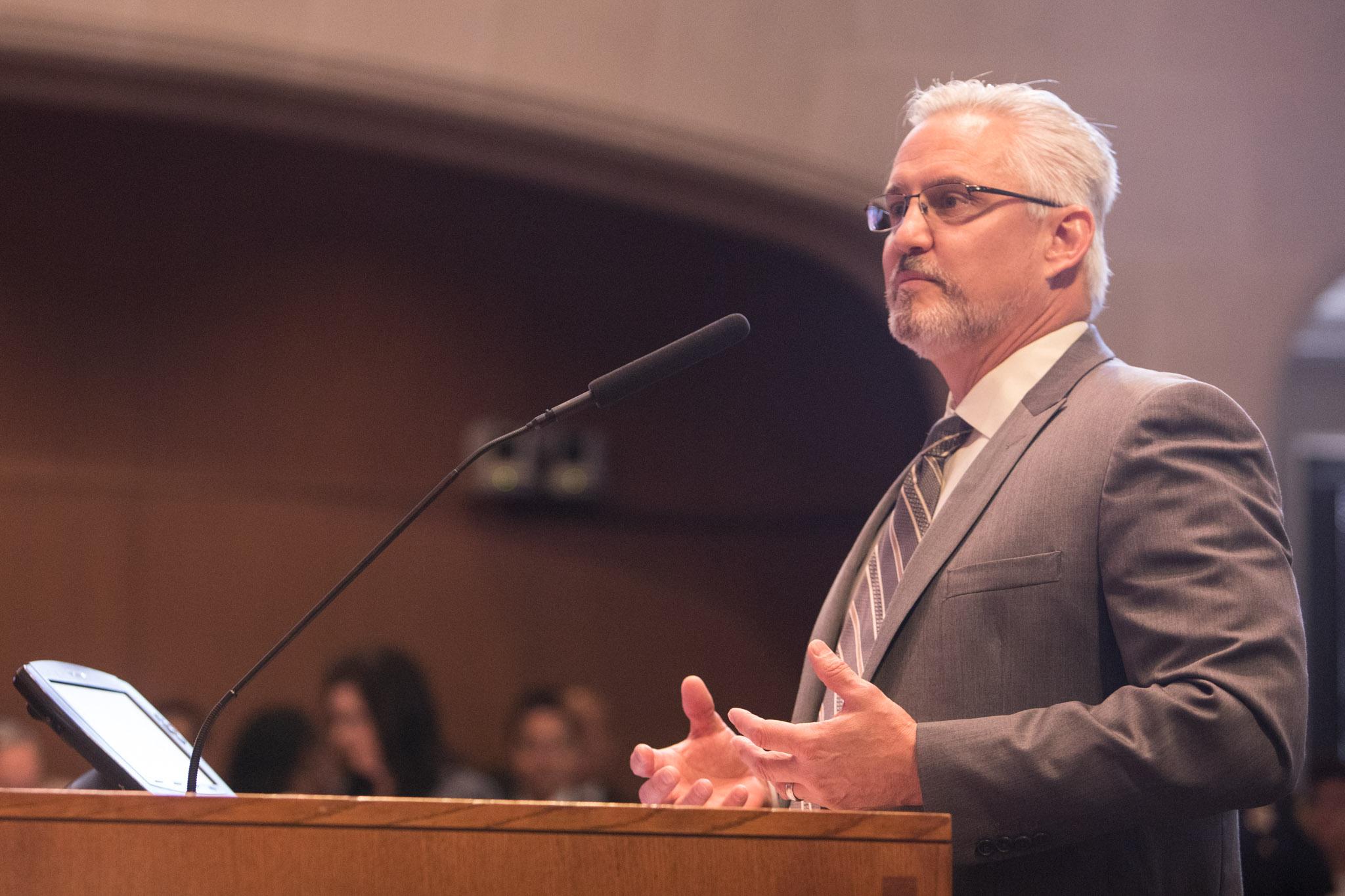 The City's Deputy Chief Development Officer Troy Elliott.