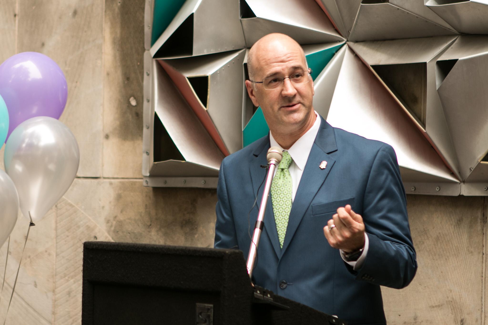 Center City Development and Operations Department Interim Director John Jacks explains how the Virtual Valet app works.