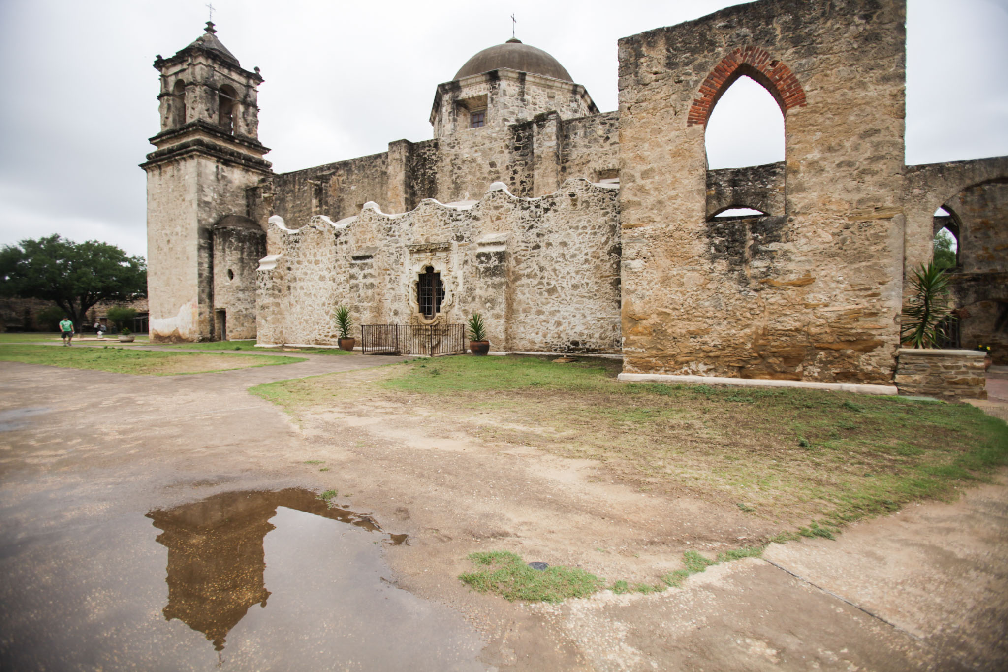 Construction is already taking place at San Antonio Missions National Historic Park.