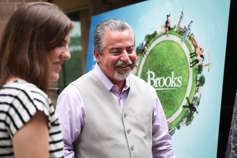 Brooks president and CEO Leo Gomez discusses the re-branding of Brooks city base.