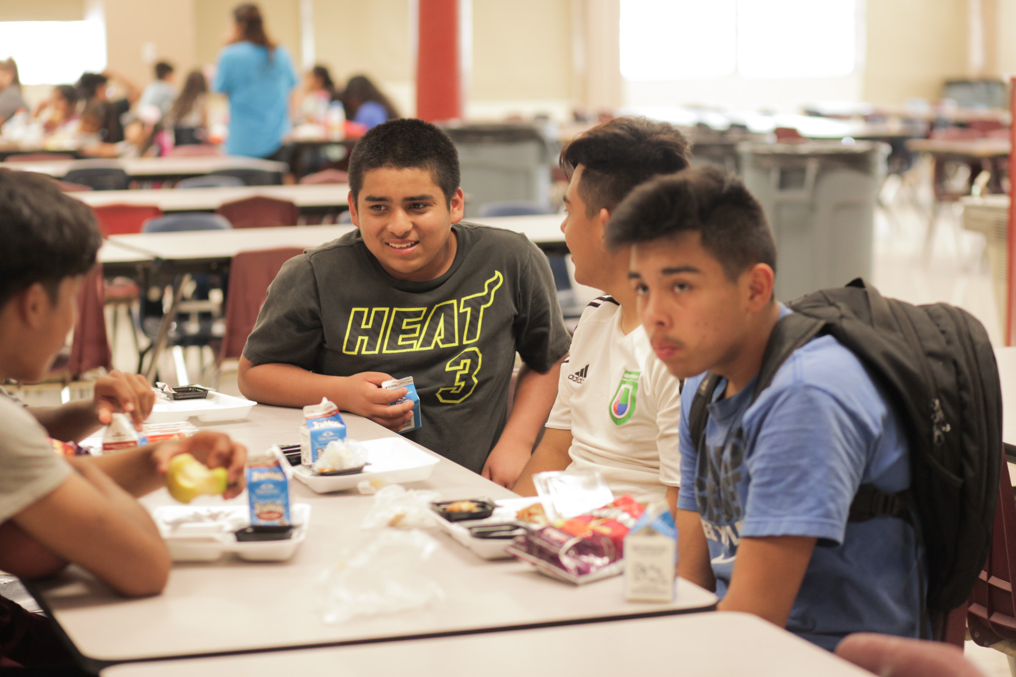 The program also provides meals for summer programs and camps in the area.