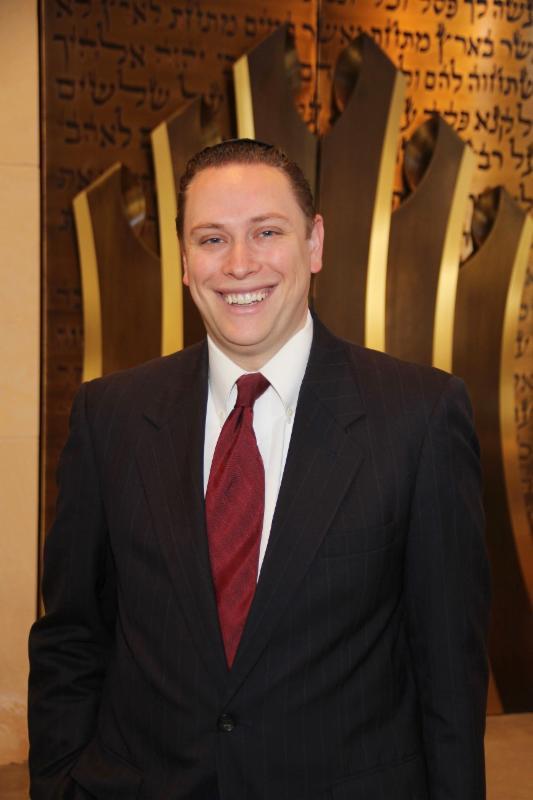 Rabbi Jeffrey Abraham.