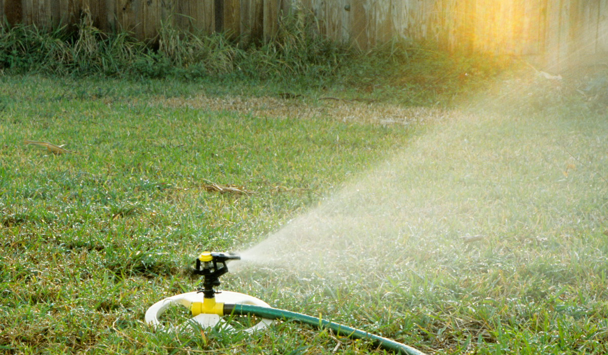 Stage One watering restrictions call for landscape watering only on a designated time and day.