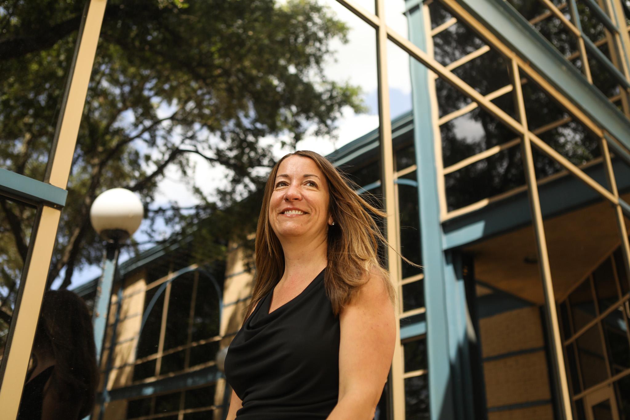 San Antonio Police Department Psychologist Melissa Graham.