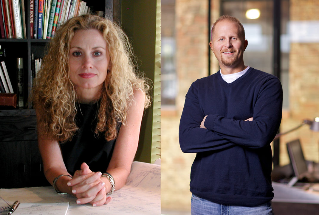 Jill Giles and Brad Parscale.