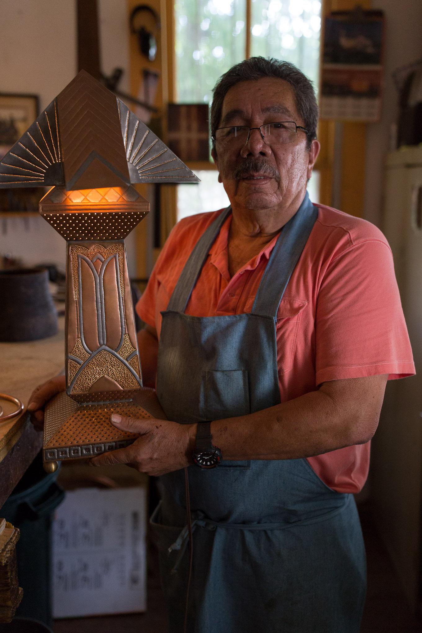 Gregorio Rebollar has been working on his craft for 40 years.