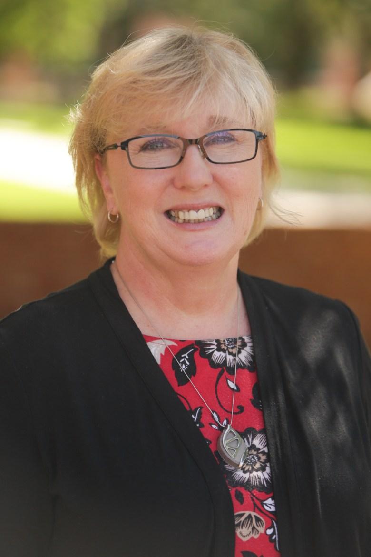 Trinity Department of Education Chair Shari Albright.