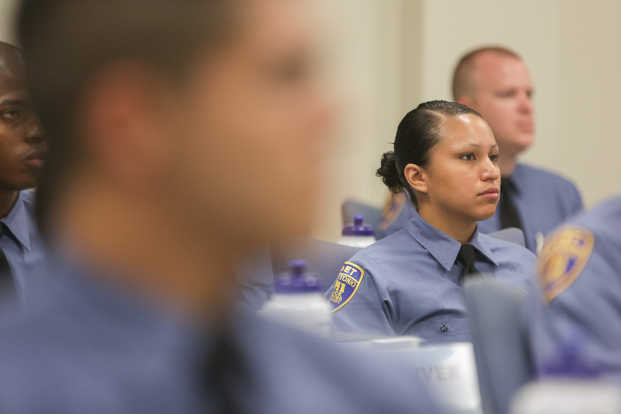 Out of the 50 cadets in attendance for their first day of training seven are women.
