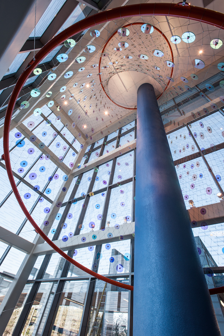 Selected Art installations in the Sky Tower on the Campus of University Hospital, San Antonio, TX.