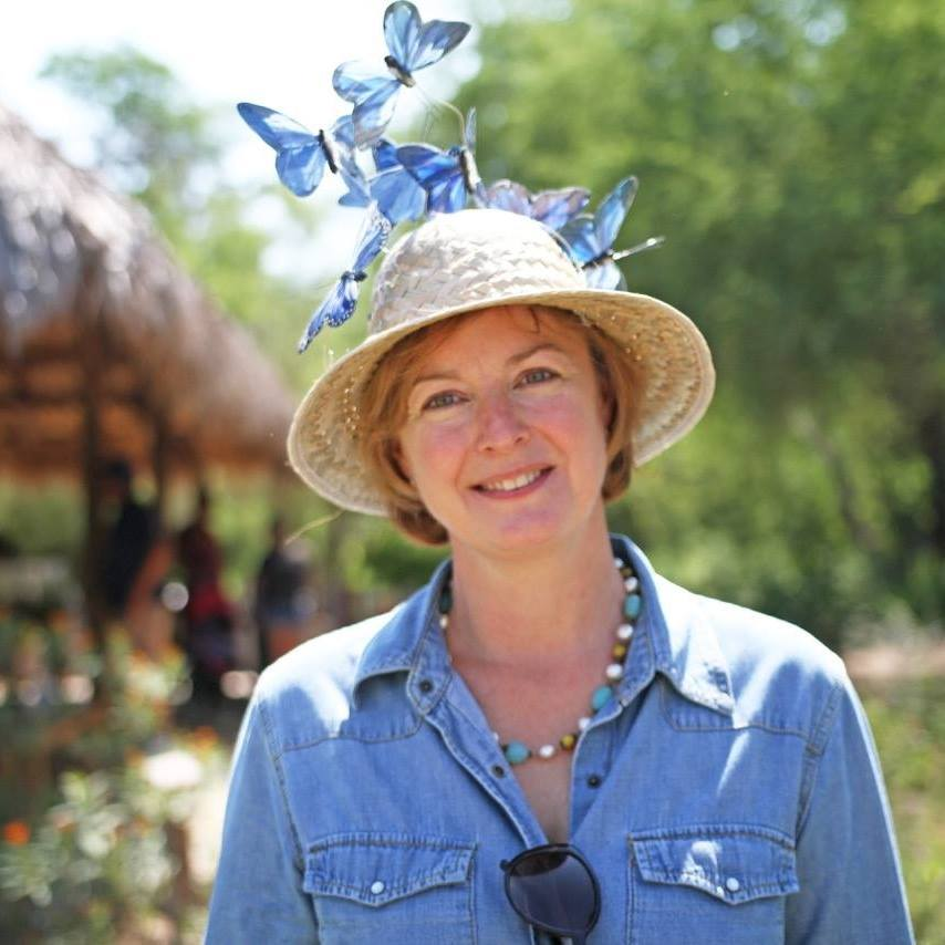 National Butterfly Center in Mission, Texas, Director Marianna Wright.