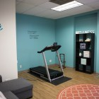 The new location of the Rape Crisis Center has a wellness room.