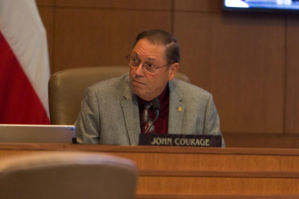 Councilman John Courage (D9).