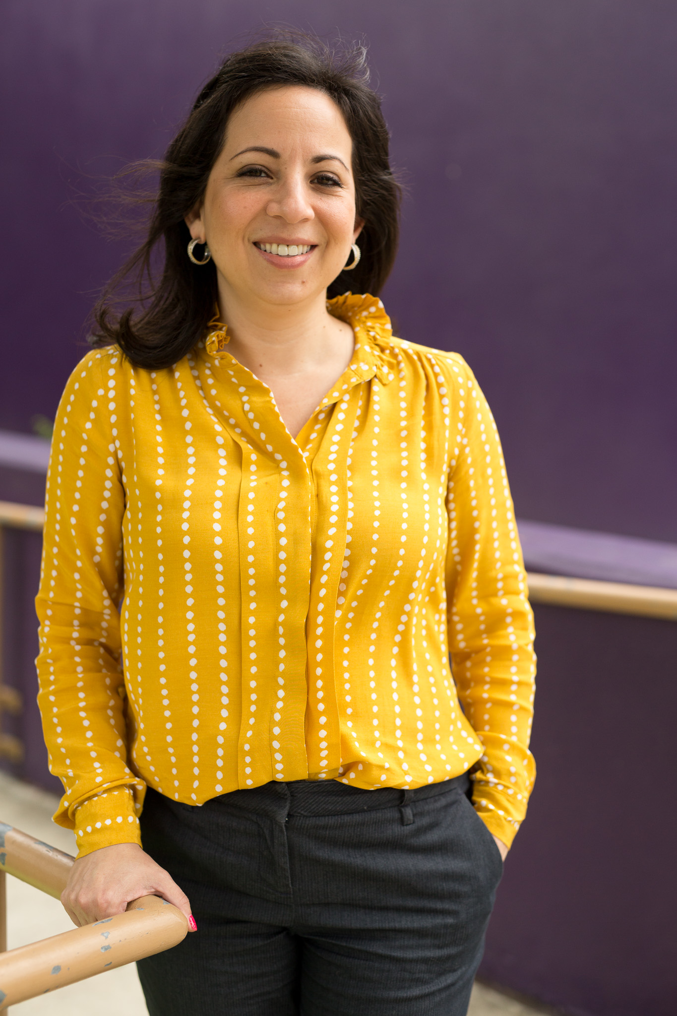 President and CEO of The Children's Shelter Annette Rodriguez.