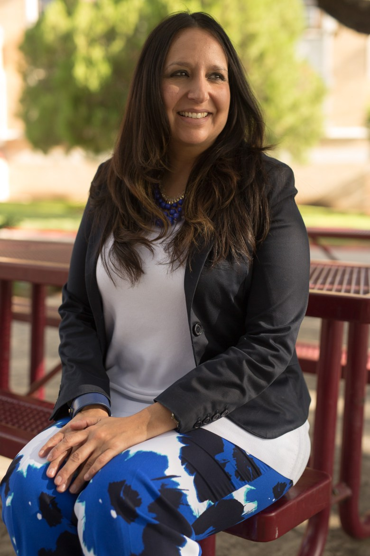 St. Anthony High School Principal Dr. Kristina Vidaurri.