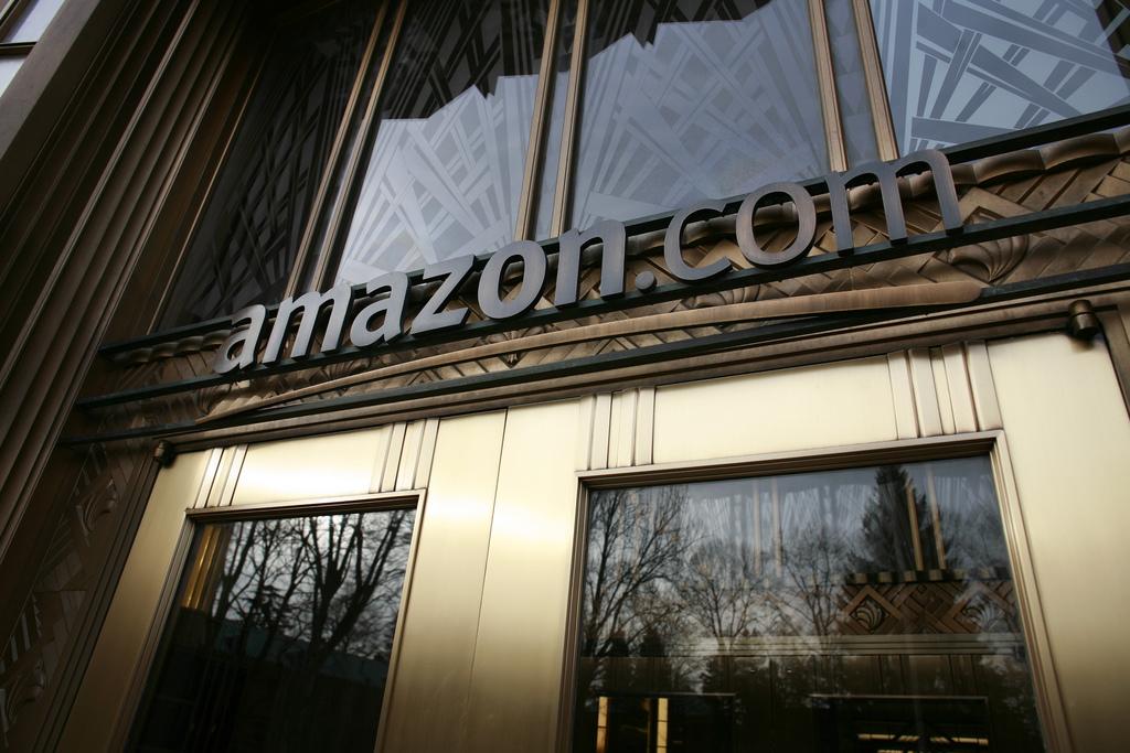 Amazon's front door.