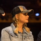 """Miranda Lambert speaks at a press conference about the telethon """"Hand in Hand: A Benefit for Hurricane Harvey Relief"""" at the Majestic Theatre."""