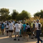 The World Heritage Tour de las Misiones Walk participants begin their walking tour through Mission Reach.