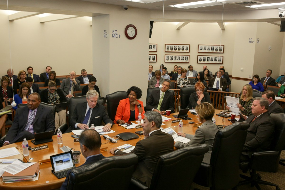 The CPS Energy Board meeting on Monday September 25, 2017.