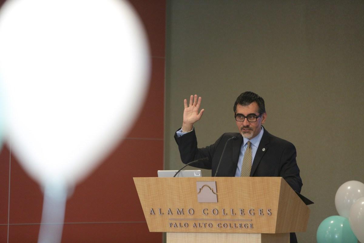 Palo Alto College President Mike Flores.