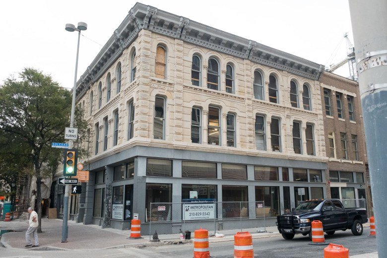 Scaleworks' new office is located in the historic Savoy Building at 113 E. Houston St.