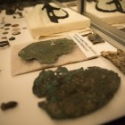 Artifacts are unveiled at the Alamo in celebration of Texas Archaeology Month.