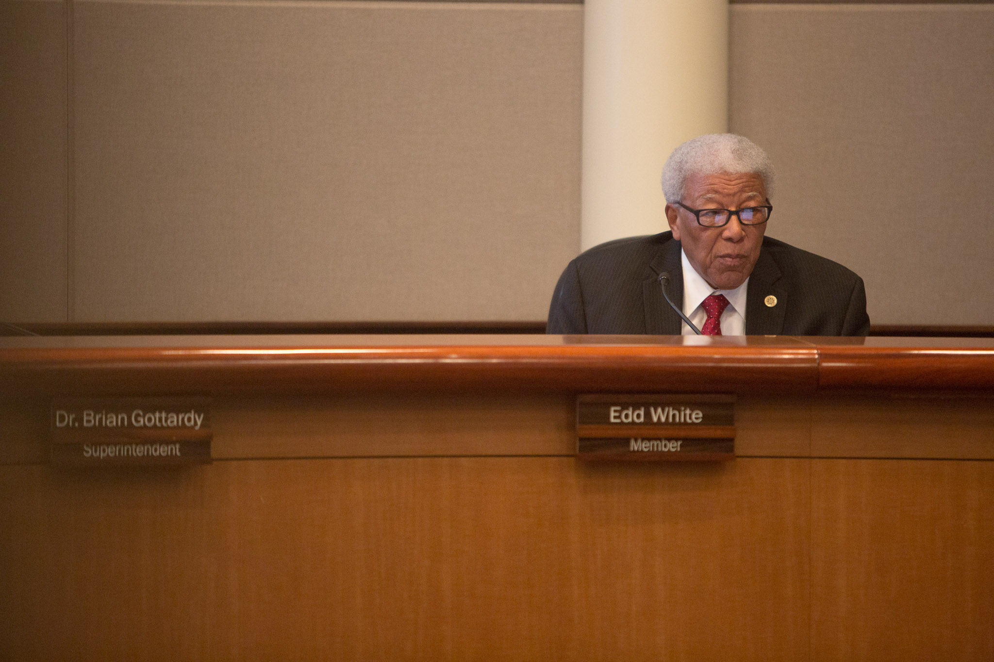 NEISD board member Edd White shares his view on the distinction between Lee and L.E.E.