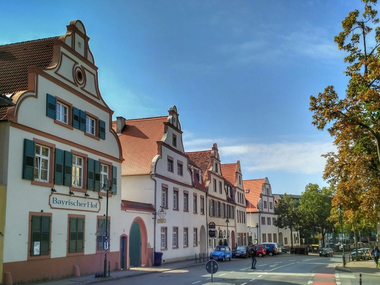 A street in Darmstadt, Germany.