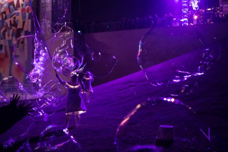 "CRITT Project performs ""Burst"" at Luminaria."