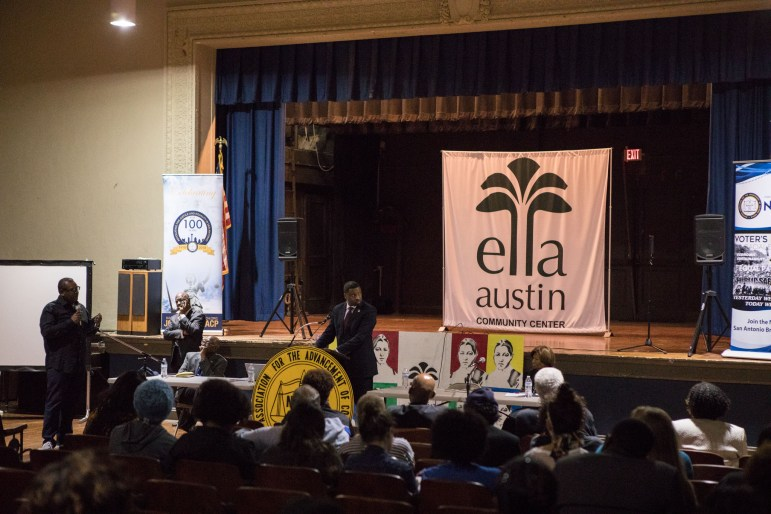 NAACP Forward is hosted at Ella Austin Community Center.