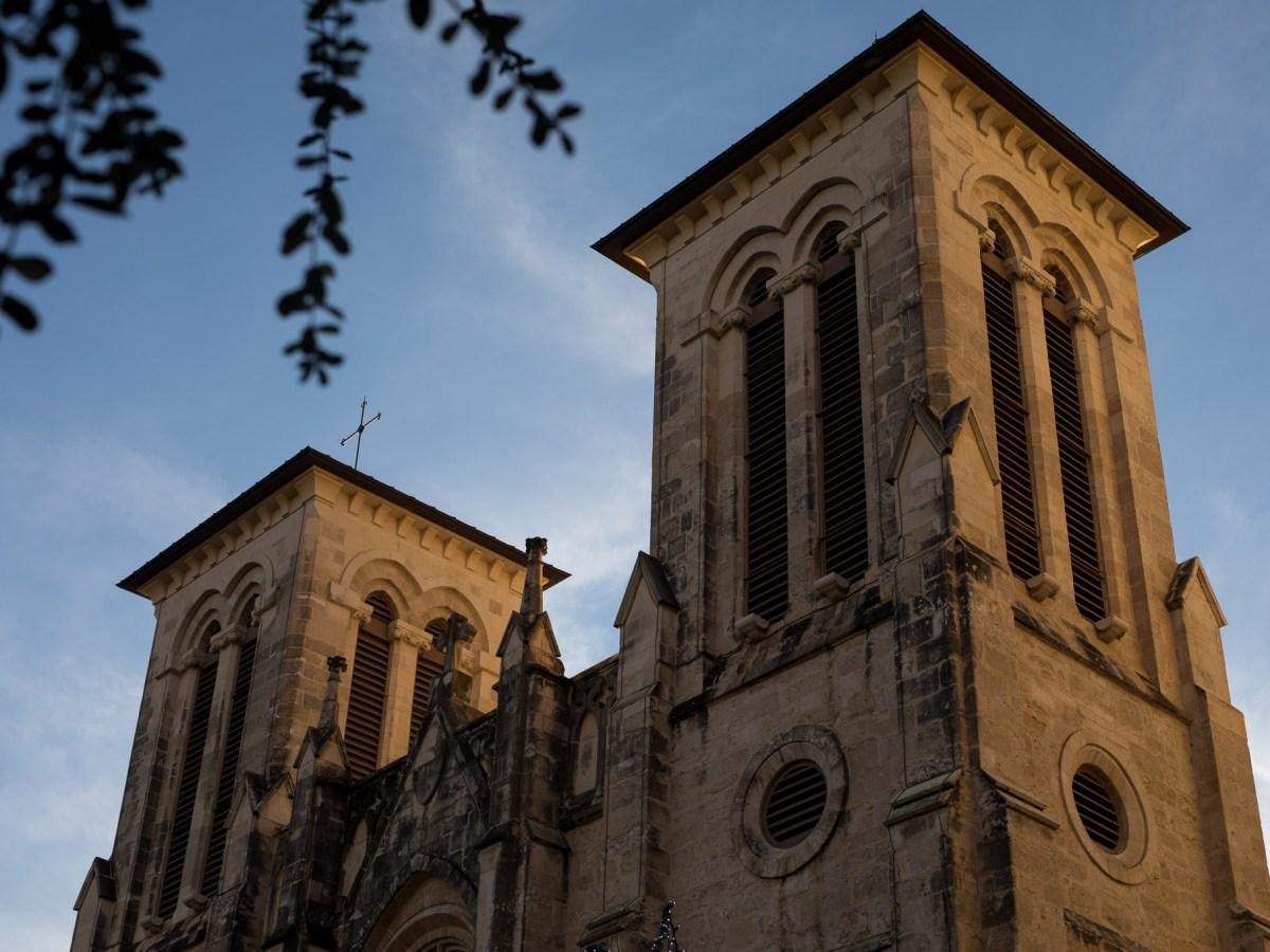 San Fernando Cathedral at Main Plaza.