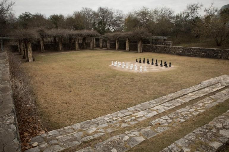 The first reservoir in San Antonio resides in the San Antonio Botanical Garden.