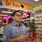 Javier Gutierrez, Del Bravo Record Shop owner, shares his experience on Old Highway 90.