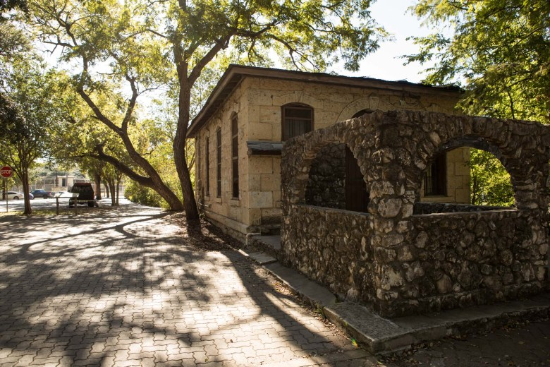 City officials want to restore this pump house at Brackenridge Park.