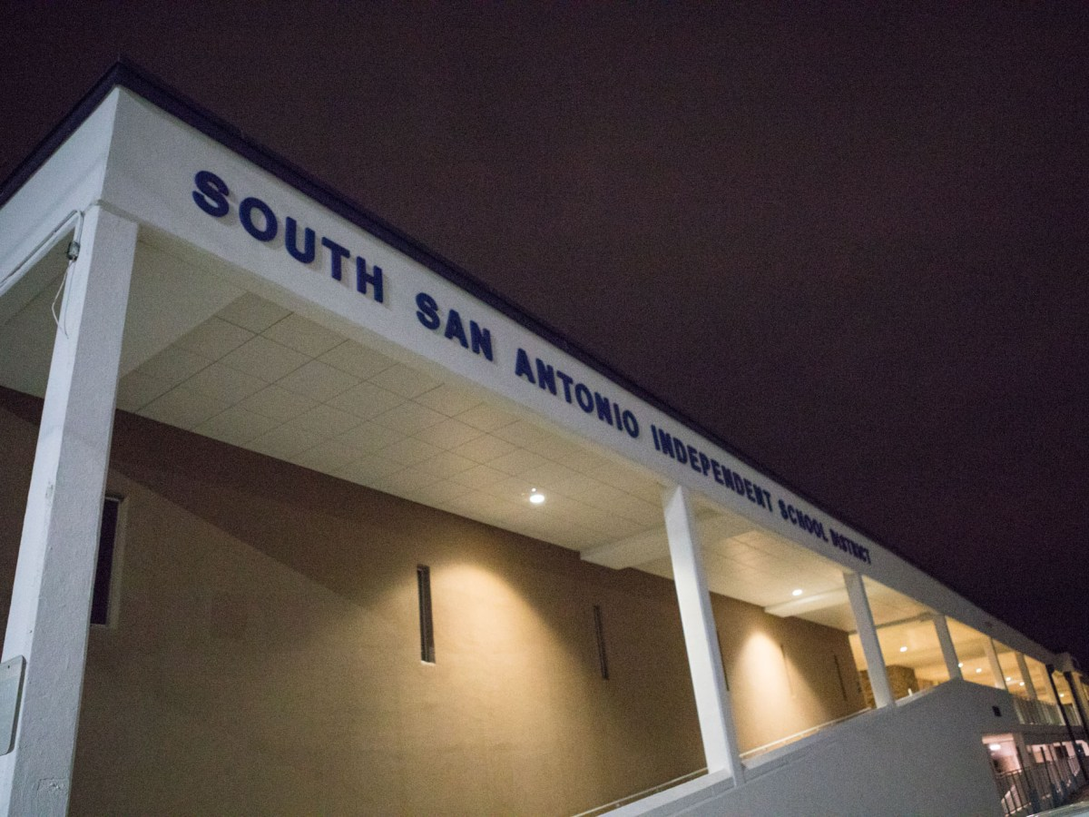 South San Antonio Independent School District is located at 5622 Ray Ellison Blvd.