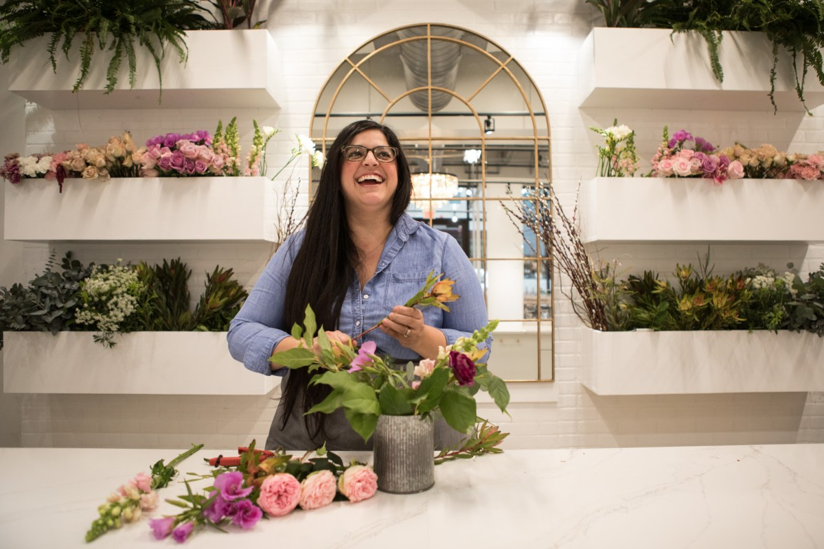 Ashley Mauricio-Flores is Owner and Creative Director of The Vintage Bouquet Bar.