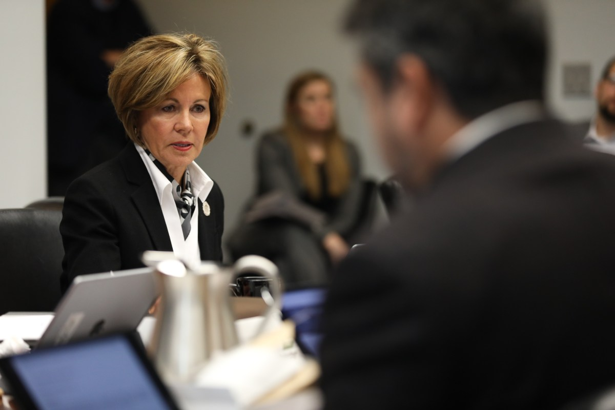 City Manager Sheryl Sculley addresses concerns about non-profit organizations role with the city.