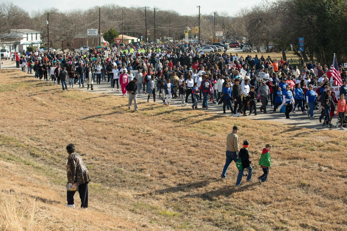 Last year the 50th San Antonio Martin Luther King Jr. March hosted thousands of people from all backgrounds.