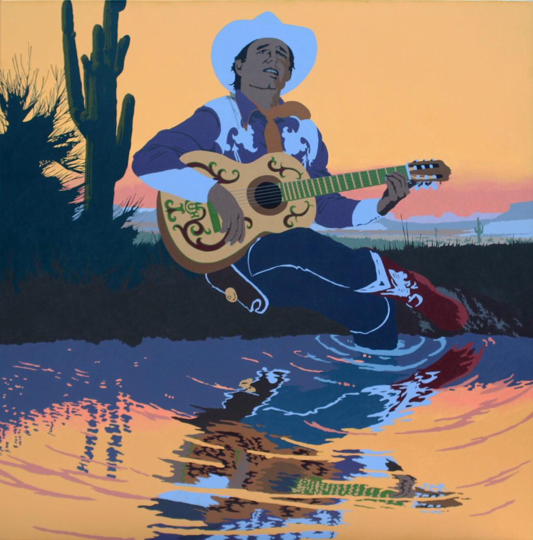 Billy Schenck, Singing Cowboys Hero Sunset, 1985