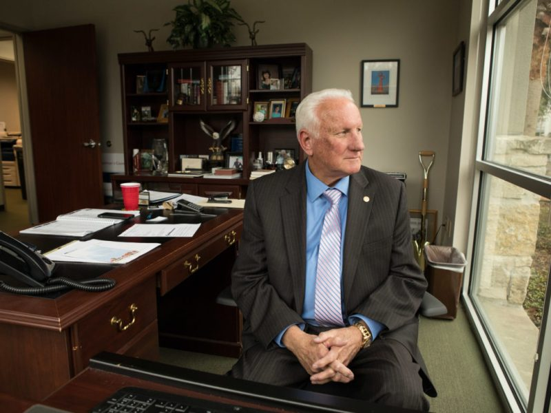 Duane Wilson is retiring as the President/CEO of the North San Antonio Chamber of Commerce.